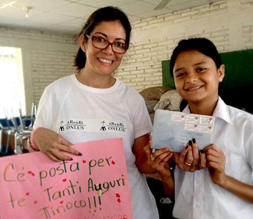 cristian volontaria ilearn nicaragua