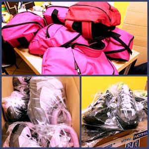 Zainetti e scarpe per Nicaragua